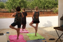 Yoga lessen bij B&B Buena Idea