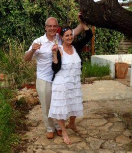 Logeren en reserveren bij Nederlanders in Bed & Breakfast Jalon Spanje: Jolanda en Hans Poortvliet